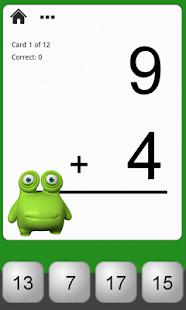 Monster Math Flash Cards Lite