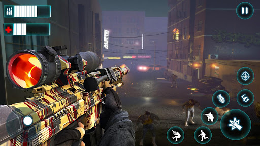 Code Triche Real Survival Dead Zombie Shooter APK MOD (Astuce) screenshots 1