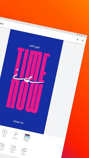 Adobe Spark Post: Graphic Design & Story Templates  screenshots 10