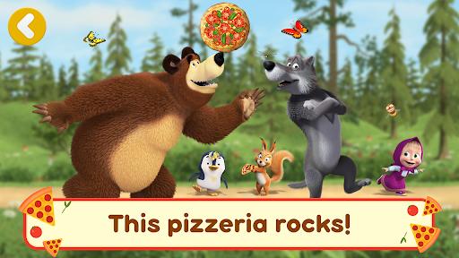 Masha and the Bear Pizzeria Game! Pizza Maker Game  screenshots 7