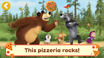 Masha and the Bear Pizzeria Game! Pizza Maker Game