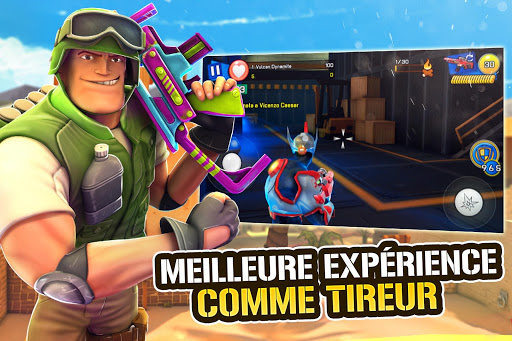 Télécharger Gratuit Respawnables - Combats PvP de Pistolet en Ligne APK MOD (Astuce) screenshots 1