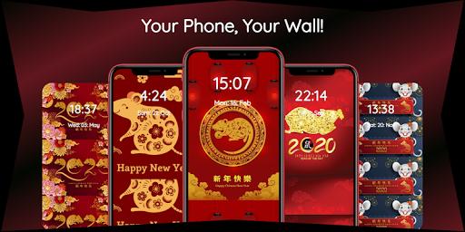 chinese new year 2020 wallpaper hd 🐁🎊🐀 screenshot 3