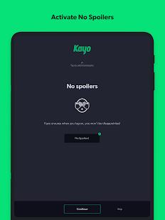 Kayo Sports - for Android TV screenshots 13