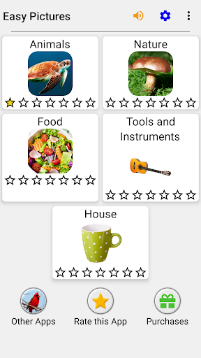 Easy Pictures and Words - Photo-Quiz with 5 Topics 3.1.0 screenshots 3