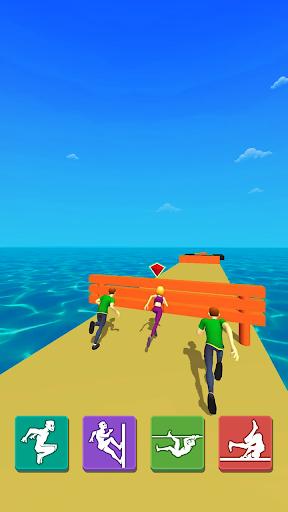 Parkour Race: Epic Run 3D screenshots 9