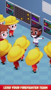 Idle Firefighter Tycoon APK , Fire Emergency Manager APK Download 9