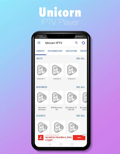 Foto do Unicorn IPTV