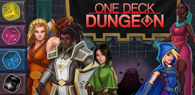 Скриншот №1 к One Deck Dungeon