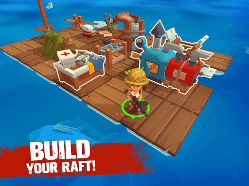 Grand Survival - Ocean Raft Adventure screenshots 6