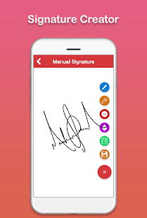 Signature Creator : Signature Maker Screenshot