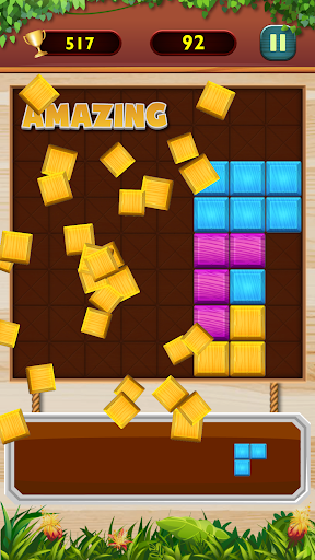 Wood Block Puzzle Classic android2mod screenshots 2