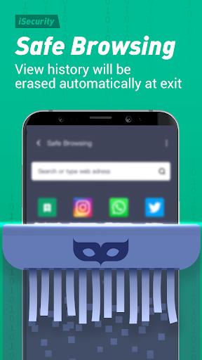 Antivirus, Virus Cleaner, Super Clean - iSecurity apktram screenshots 4