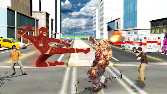 Super Speed Rescue Survival: Flying Hero Games 4