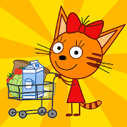 Kid-E-Cats Shopping Games for Kids & Three Kittens
