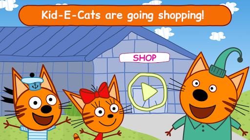 Kid-E-Cats Shopping Games for Kids! Three Kittens! apktreat screenshots 2