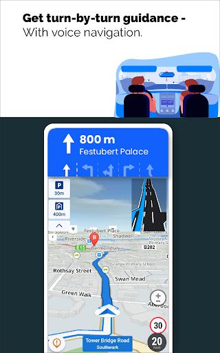 GPS Live Navigation, Maps, Directions and Explore  Screenshots 10