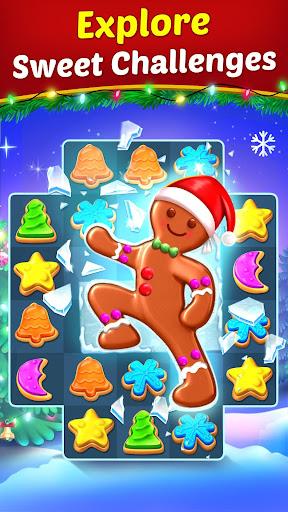 Christmas Cookie - Santa Claus's Match 3 Adventure 3.1.6 screenshots 4