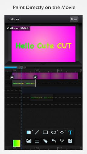 Cute CUT - Video Editor & Movie Maker 1.8.8 screenshots 2