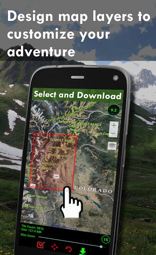 Polaris GPS Navigation: Hiking, Marine, Offroad 9.17 Screenshots 3