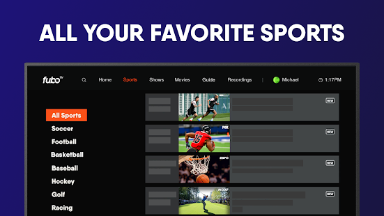 fuboTV: Watch Live Sports & TV screenshots 20