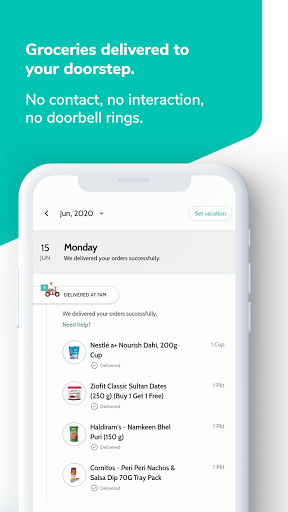 Supr Daily - Online Milk & Grocery Delivery App android2mod screenshots 5