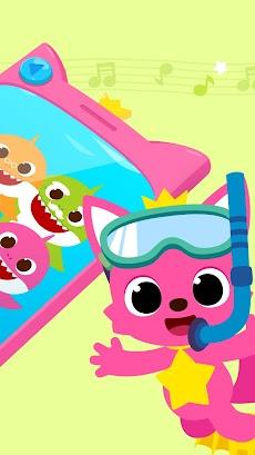 ピンキッツとちびザメの電話遊びのおすすめ画像2