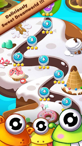 Cookie Mania - Match-3 Sweet Game modavailable screenshots 5