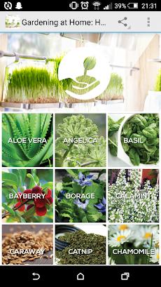 Gardening at Home: Herbsのおすすめ画像1