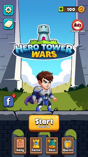 Hero Tower Wars - Math Puzzle  screenshots 4