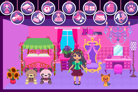 My Princess Castle - Doll and Home Decoration Game 1.2 screenshots 1