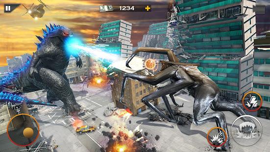 Dinosaur Rampage Attack: King Kong Games 2020 1.0.1 screenshots 1