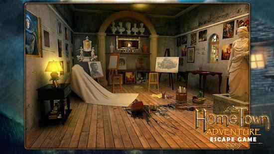 Escape game:home town adventure 29 screenshots 2