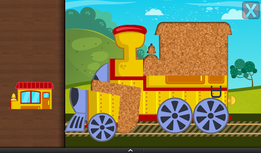 Trains Jigsaw Puzzles for Kids apkmr screenshots 19