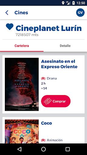 Cineplanet Peru00fa screenshots 4