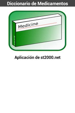 Diccionario de Medicamentos 1.0 Screenshots 1