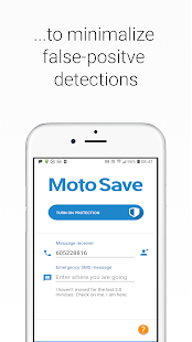 Motorcycle safety MotoSave
