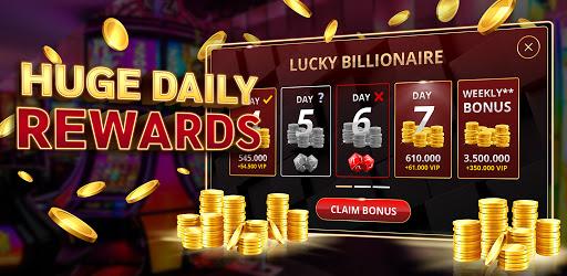 Lucky Billionaire: Free VIP Slots  screenshots 2
