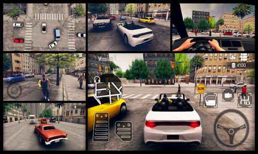 Real Car Parking - Open World City Driving school modiapk screenshots 1
