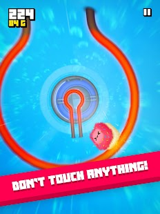 Fluffy Fall: Fly Fast to Dodge the Danger! Screenshot