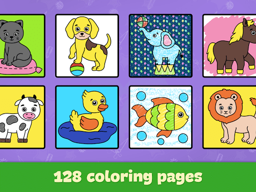 Coloring and drawing for kids  screenshots 13