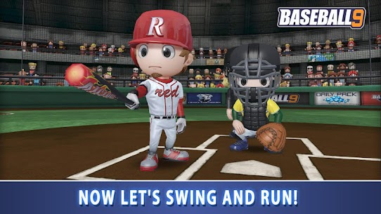 BASEBALL 9 1.5.7 MOD APK [INFINITE COIN/ENERGY] 2