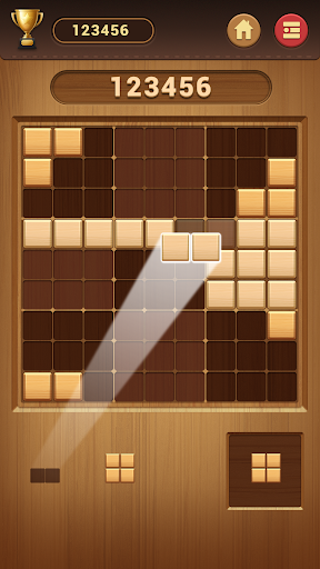 Wood Block Sudoku Game -Classic Free Brain Puzzle modiapk screenshots 1
