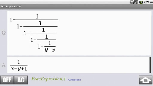 FracExpressionA For PC Windows (7, 8, 10, 10X) & Mac Computer Image Number- 11