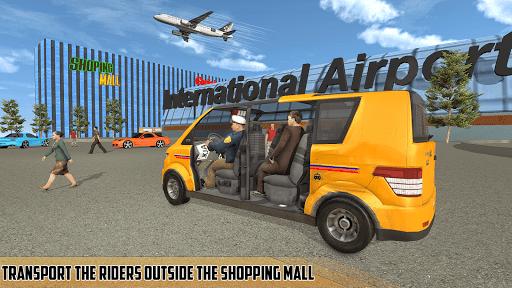 Real Taxi Airport City Driving-New car games 2020 1.8 screenshots 1