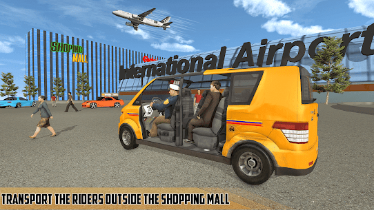 Modern Taxi Driving Game  City Airport Taxi Games Apk 4