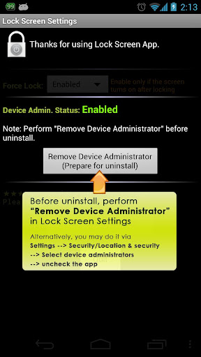 Lock Screen App  screenshots 3