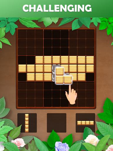 Wood Block Puzzle: Reversed Tetris & Block Puzzle android2mod screenshots 13