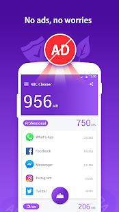 ABC Cleaner - Professional Phone Clean & Boost App Screenshot