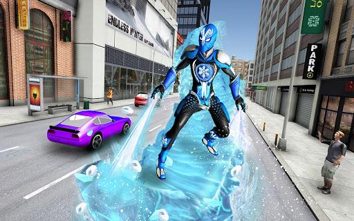 Snow Storm Super Human: Flying Ice Superhero War 1.0.3 screenshots 8